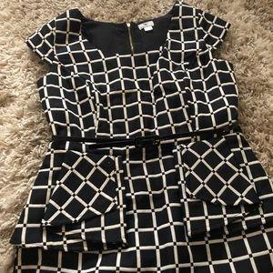 Worthington Peplum Work Dress